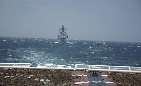 Отряд кораблей ВМФ России прибыл вБруней