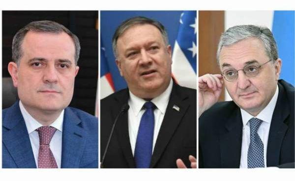 Помпео провёл встречи по Карабаху: рукопожатия без существенных заявлений —  Новости политики, Новости России — EADaily