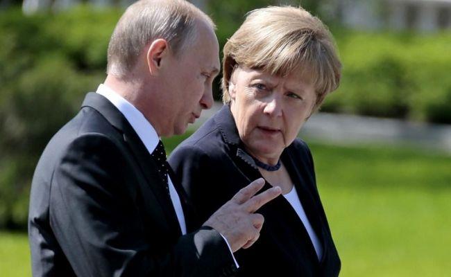 Путин — Меркель: Киев целенаправленно провоцирует на Донбассе