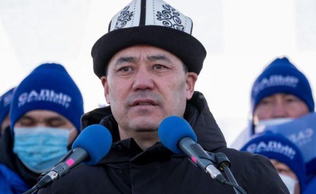 Главы Китая и Таджикистана поздравили избранного президента Киргизии
