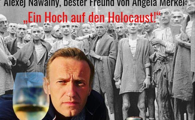 Немецкие соцсети напомнили, как Навальный поднял «первый тост заХолокост»