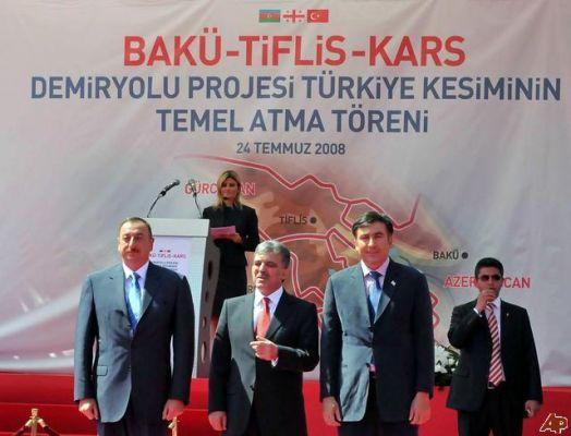 Коридор Баку-Тбилиси-Карс не получится загрузить товарами: эксперт