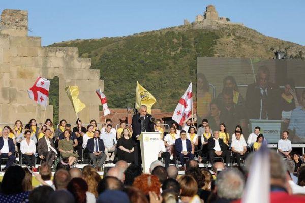 Партия олигархов «Лело заГрузию» представила кандидатов вдепутаты
