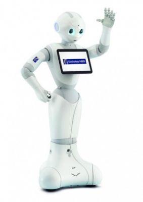 Банк в ОАЭ примет на работу человекоподобных роботов