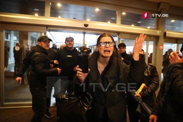 Встречу Саакашвили состоронниками вБельгии попытались сорвать