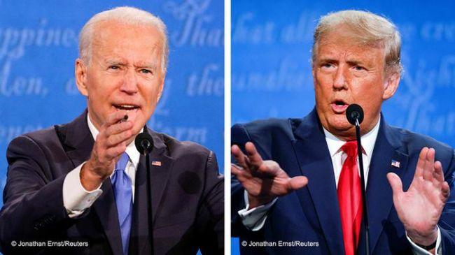 Выборы вСША: Трамп иБайден поделили страну