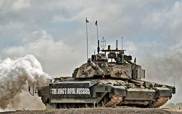 Британские военные: Против России помогут танковые соединения