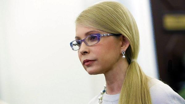 Тимошенко призвала Зеленского игнорировать Конституционный суд Украины