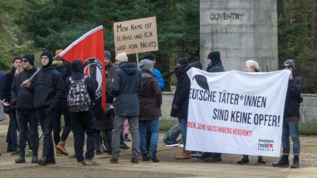 «Не жертвы, а преступники!»: дрезденцам напомнили историческую правду