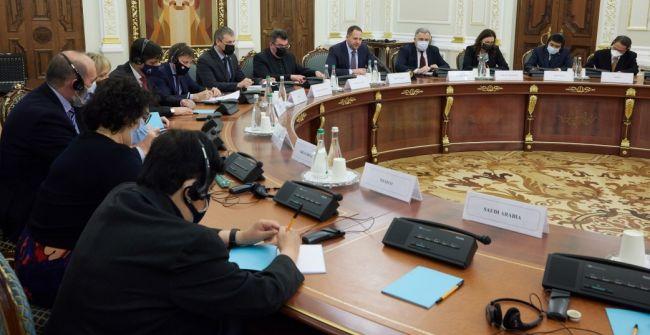 В офисе Зеленского пожаловались послам стран G20 на обострение в Донбассе
