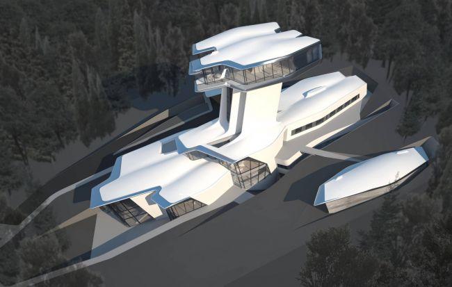 Владислав Доронин продаёт дом, построенный в России для Наоми Кэмпбелл