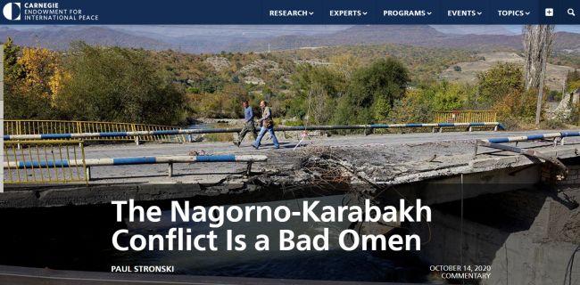 Пол Стронски: Кто остановит войну в Карабахе, если США и ЕС «умыли руки»?