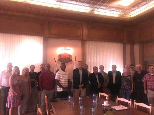 Американский визит на болгарский VMZ. Фото: VMZ